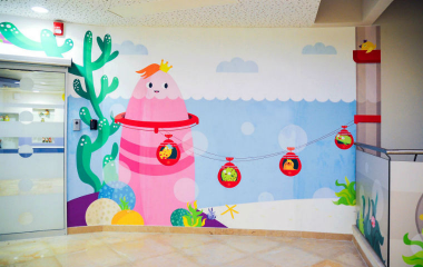 NHS CHILDRENS HOSPITAL MPI 8000 Wall Film series
